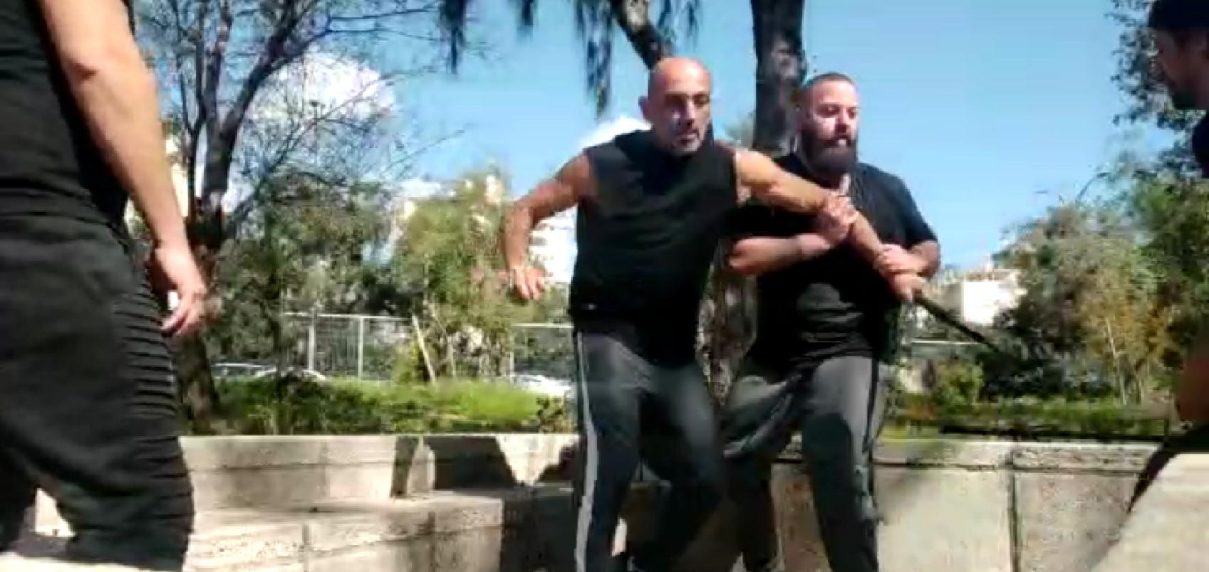הגנה והתחמקויות מול 3 תוקפים חמושים בסכין - נינגיטסו אימון חגורות שחורות - SCIL